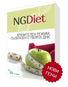 ДНК тестът NGDiet е обновен с нови гени.
