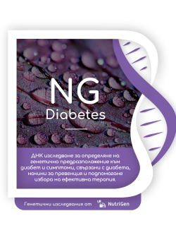 ДНК тест NGDiabetes на NutriGen
