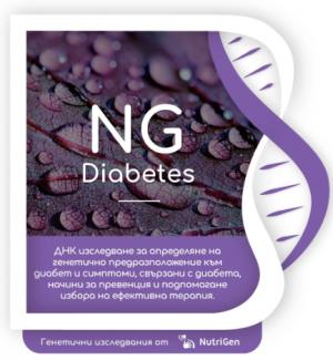ДНК тест NGCDiabetes на NutriGen
