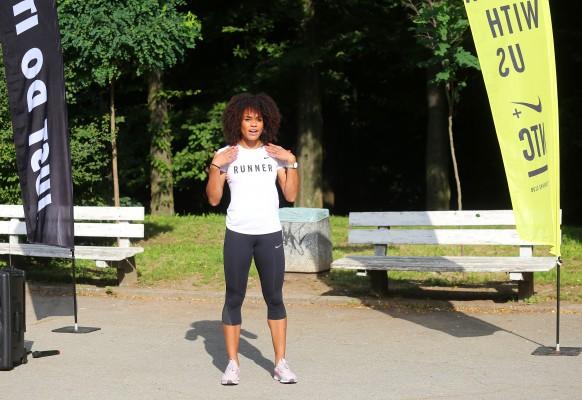 """Първото събитие на проекта """"Влез във Форма"""" измина с неделна тренировка в Южния парк"""