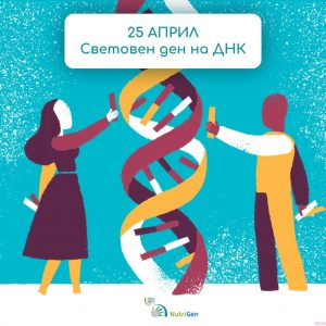 25 април – Световен Ден на ДНК